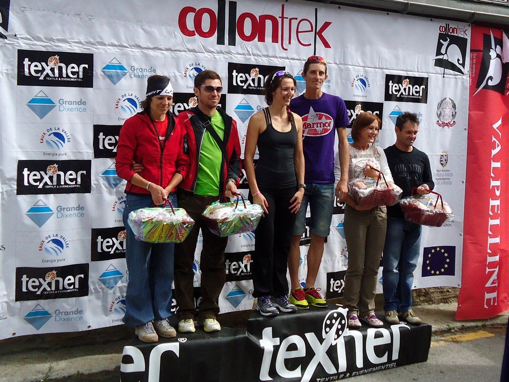 Podium Mixte
